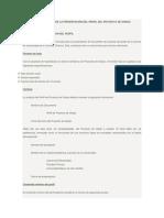 Guía General Para La Presentación Del Perfil Del Proyecto de Grado