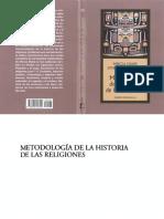 Mircea Eliade - Metodologia de La Historia de Las Religiones