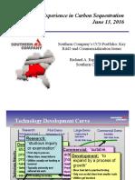 Southern Company's CCUS Portfolio