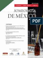 La Homeopatía de México, no. 701 (marzo-abril de 2016)