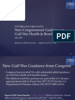 VCS PPT - Baldwin Gulf War Provisos in Senate FY17 MilConVA