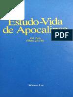 Estudo-Vida de Apocalipse - Vol. 2