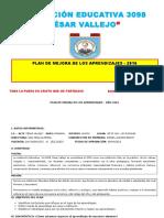 Plan de Mejora de Los Aprendizajes 2016 (1)