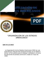 Oea(Organización de Estados Americanos)