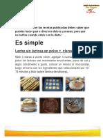 Libro Dieta Lipofidica RECETAS