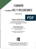 Economía Principios y Aplicaciones