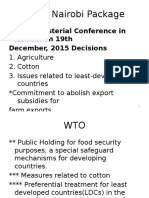 Nairobi WTO