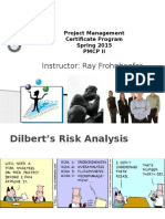 PM Cert Pgm 2.5 (S2015) - Change and Risk Management (Day 2 - Handouts) - Rwf