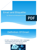 email and etiquette