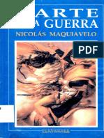 El Arte de La Guerra - Nicolas Maquiavelo
