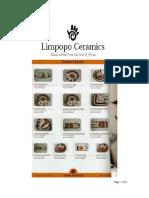 LIMPOPO PRICELIST 2010