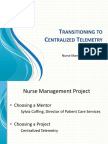 transitioning to centralized telemetry1