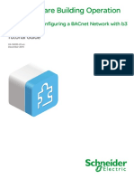 Creating and Configuring a BACnet Network With b3 BACnet Devices Tutorial Guide