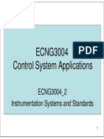ECNG3004 2 Instrumentation Standards