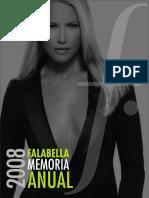 Memoria Anual SACI Falabella 2008