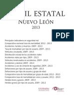 Perfil estatal Nuevo León 2013