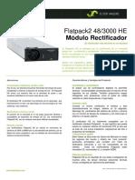 Datasheet Flatpack2 483000 HE (DS - 241119.105.DS3 - 1 - 2)ESPAÑOL 0610