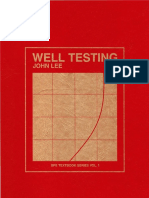 Well Testing - John Lee