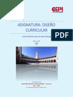 Guía Didáctica Dis CurrX MES