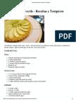 Torta de Maçã Verde _ Receitas e Temperos