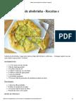 Galette (Torta) de Abobrinha _ Receitas e Temperos