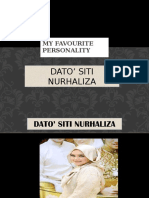 My Favourite Personality