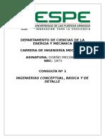 Ing. Conceptual, Básica y Detalle