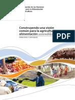 Construyendo Una Vision Comun Para La Agricultura y Alimentacion Sostenible
