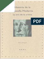 Duque, Felix - Historia de La Filosofia Moderna. La Era de La Critica