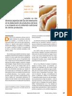 Utilizacion de Cereales y Leguminosas El La Elaboracion de Cprductos Carnicos