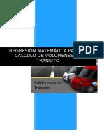 Informe - Regresiones Transito