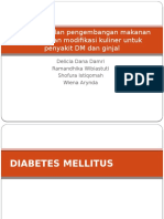Rancangan Dan Pengembangan Makanan Formula Dan Modifikasi Kuliner