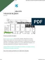 _Proceso de Producción Industrial Del Jabón - Descripción