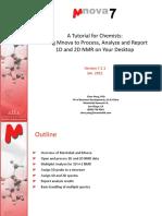 Mnova NMR Training for Chemists