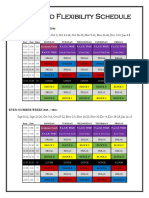 proposed flexibility schedule version 2