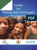 Bal Panchayats Training Manual
