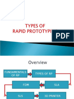 Types of Rapid Prototyping