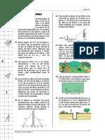 Semejanza de Triángulos (Aplicaciones)