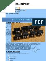 Op Amp-technical report
