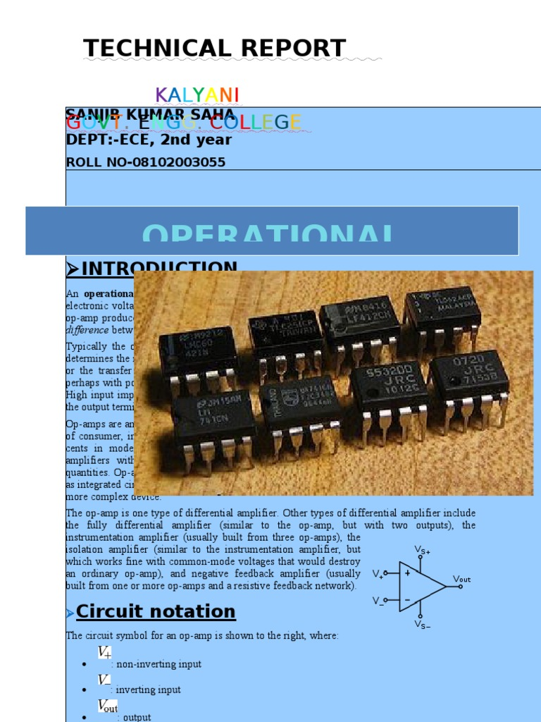 Op Amp Technical Report Operational Amplifier Be The First To Review Lm324 Quad Cancel