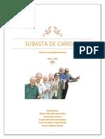 SUBASTA DE CARIDAD