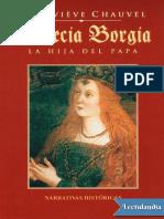 Lucrecia Borgia - Genevieve Chauvel