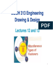 Lecture 12 and 13