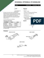 PDF Intersil 45646