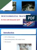 Trauma Musculoskeletal - Spine FKK UMJ1