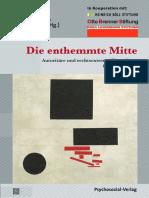Die enthemmteMitte 2016-06-Mitte Studie Uni Leipzig