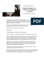 Soft Skills Article