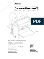 Manual Carve Wright
