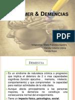 Alzheimer y Demencias