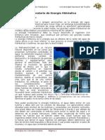Informe de Energia Hidraulica
